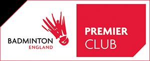 Badminton England Premier Club Logo