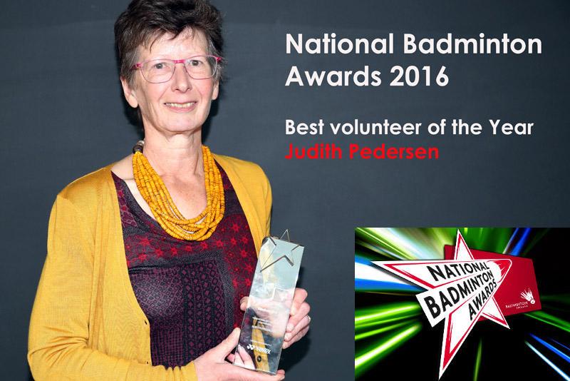 Judith wins Volunteer of the Year Award, 2016