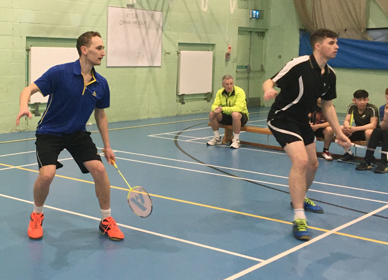 Exhibition Doubles Match and Ashaway Demo Day